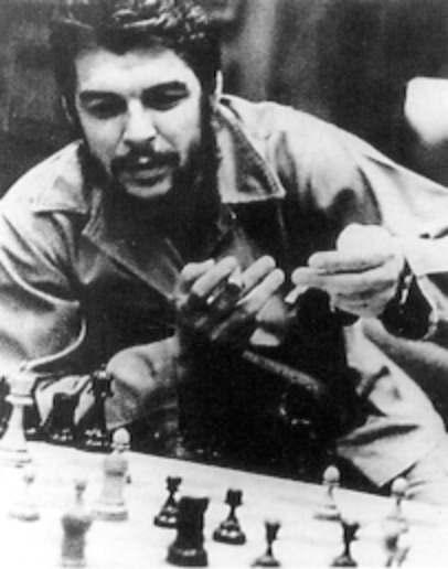 Che Guevara smoking