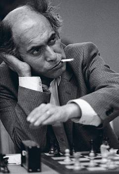 Mikhail Tal smoking
